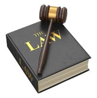 Law Book Gavel Icon