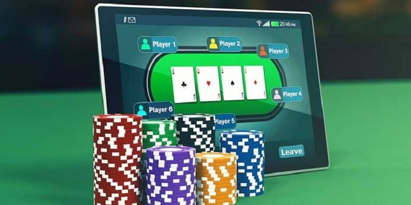 Poker On Tablet